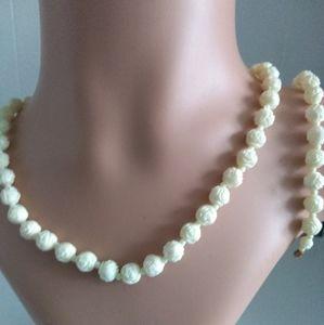 Beaded 3 piece jewelry set